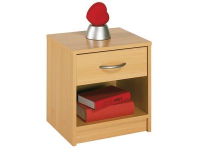 Chevet 1 tiroir 1 niche Sissi