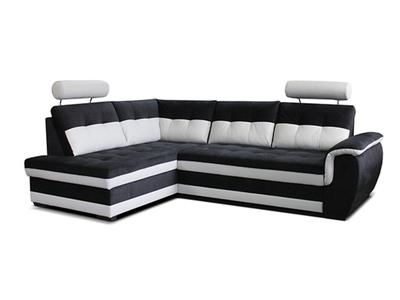 Canapé d'angle à gauche convertible
