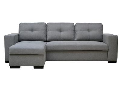 Canapé d'angle convertible et réversible