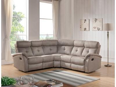 Canapé d'angle relax réversible