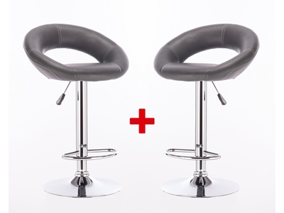 Lot de 2 tabourets Asher