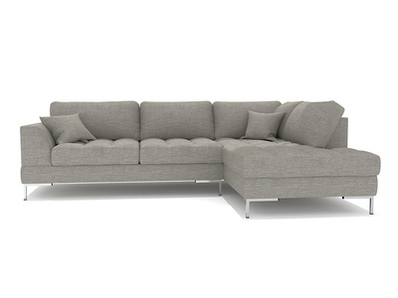 Canapé d'angle à droite pm Como