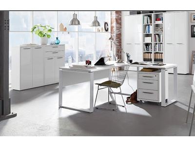 Caisson 3 tiroirs Ufficio blanc