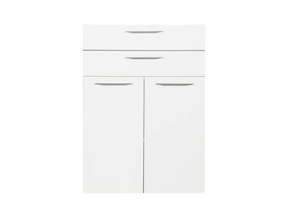 Jeu de 2 portes et 2 tiroirs Ufficio blanc