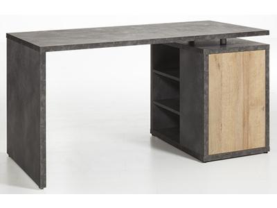 Bureau Core chene/gris