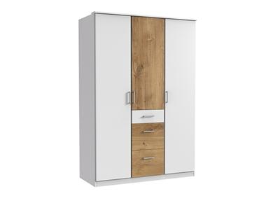 Armoire 3 portes 3 tiroirs Click