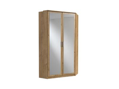 Armoire d'angle avec miroir