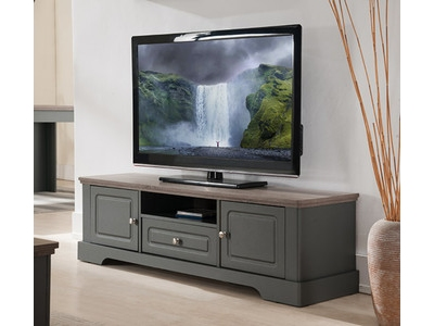 Meuble tv Dessy taupe/chene