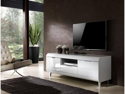 Meuble tv 2 portes 1 tiroir