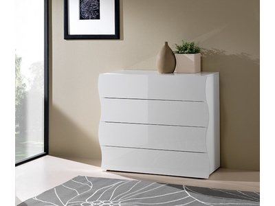 Commode 4 tiroirs Onde