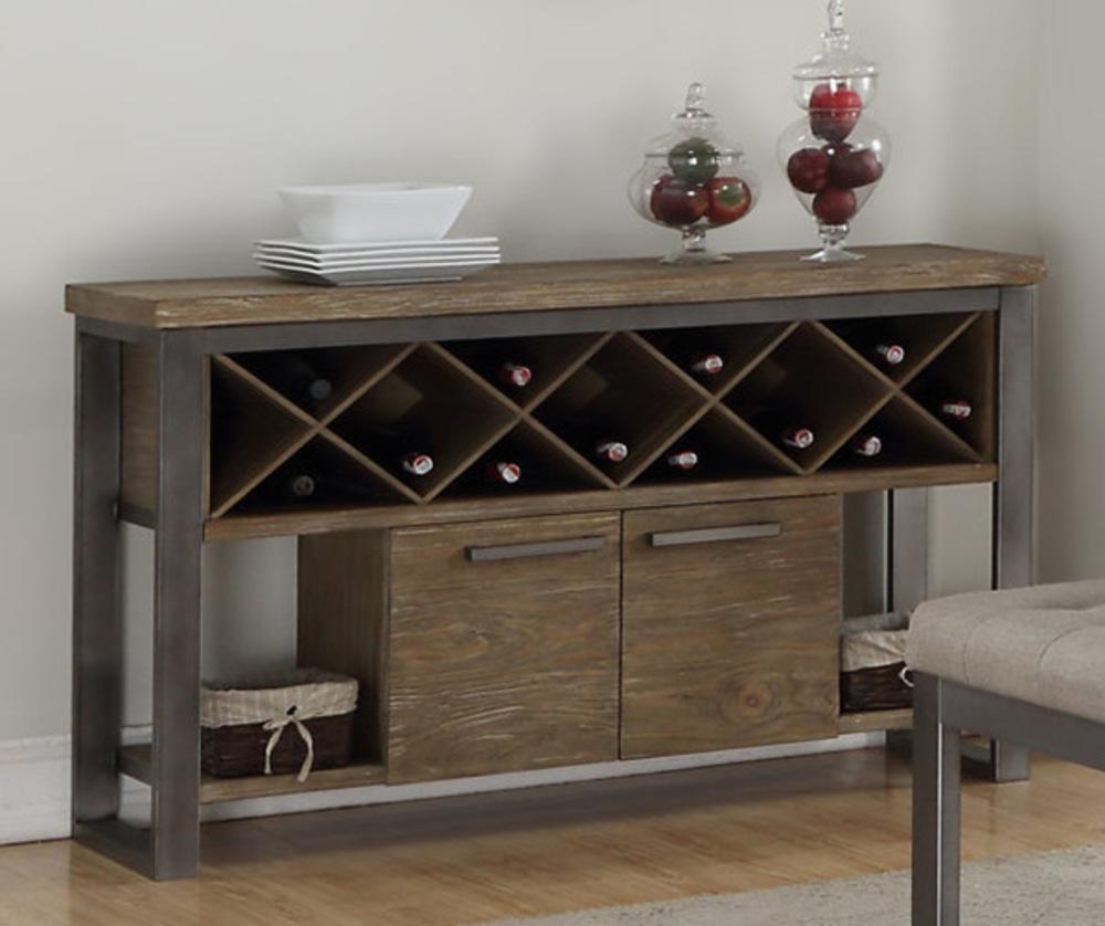 bahut 2 portes 2 niches marion. Black Bedroom Furniture Sets. Home Design Ideas