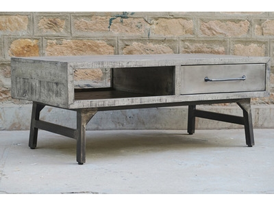Table basse Industry gris