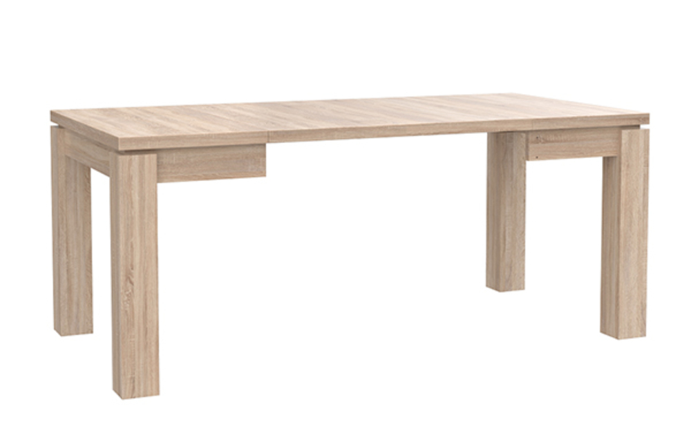 Table De Repas Carree Extensible Dany 2 Chene Sonoma