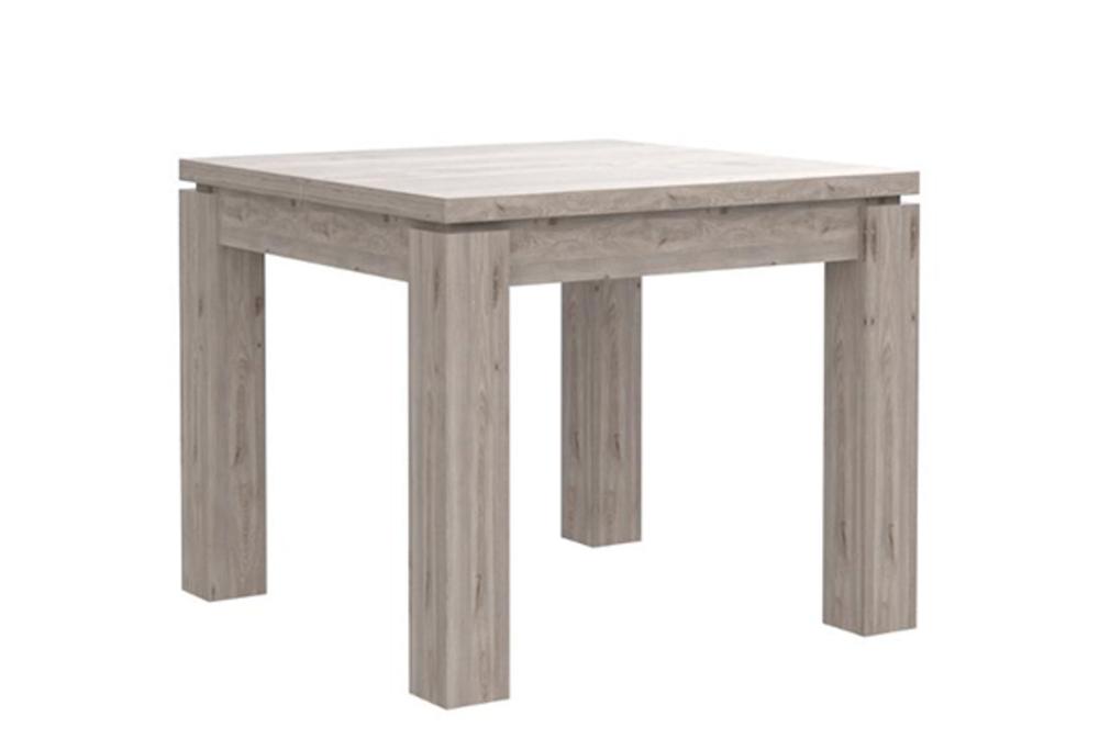 Table De Repas Carree Extensible Dany 3 Chene Gris