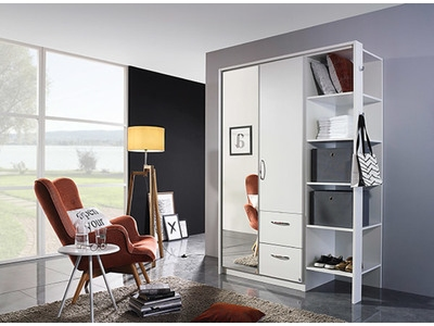 Armoire 2 portes 2 tiroirs Albstadt