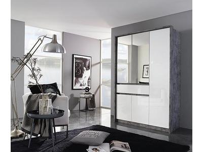 Armoire 5 portes + 1 tiroir Bornheim-plus