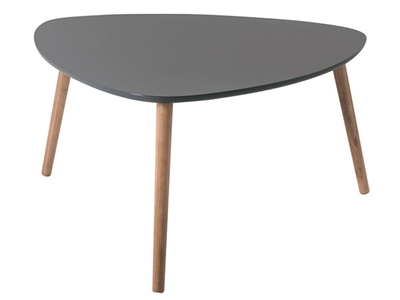 Table basse Nomade gm Chene/gris