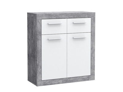 Bahut 2 portes 2 tiroirs Kiss