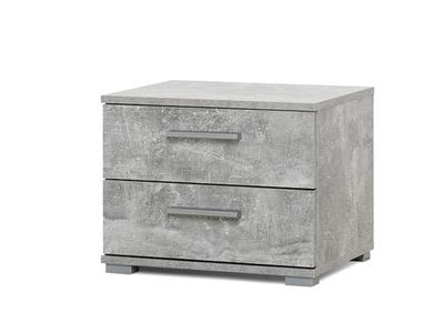 Chevet 2 tiroirs Elora