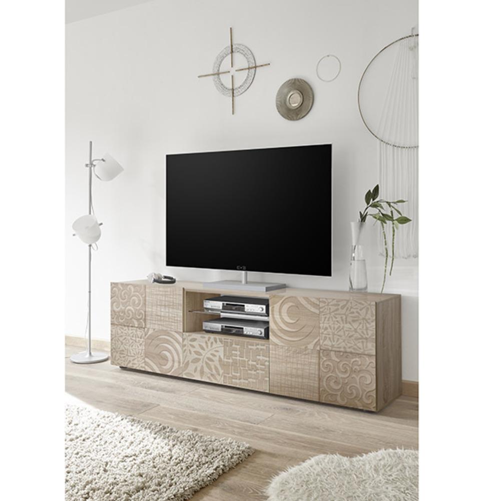 meuble tv gm miranda chene samoa