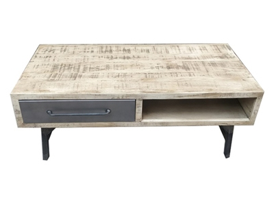 Table basse Industry naturel