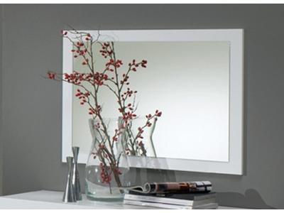 Miroir Carol noir/blanc