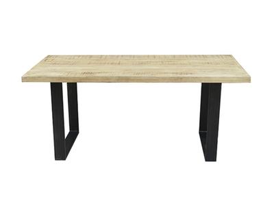 Table de repas bois Industry naturel