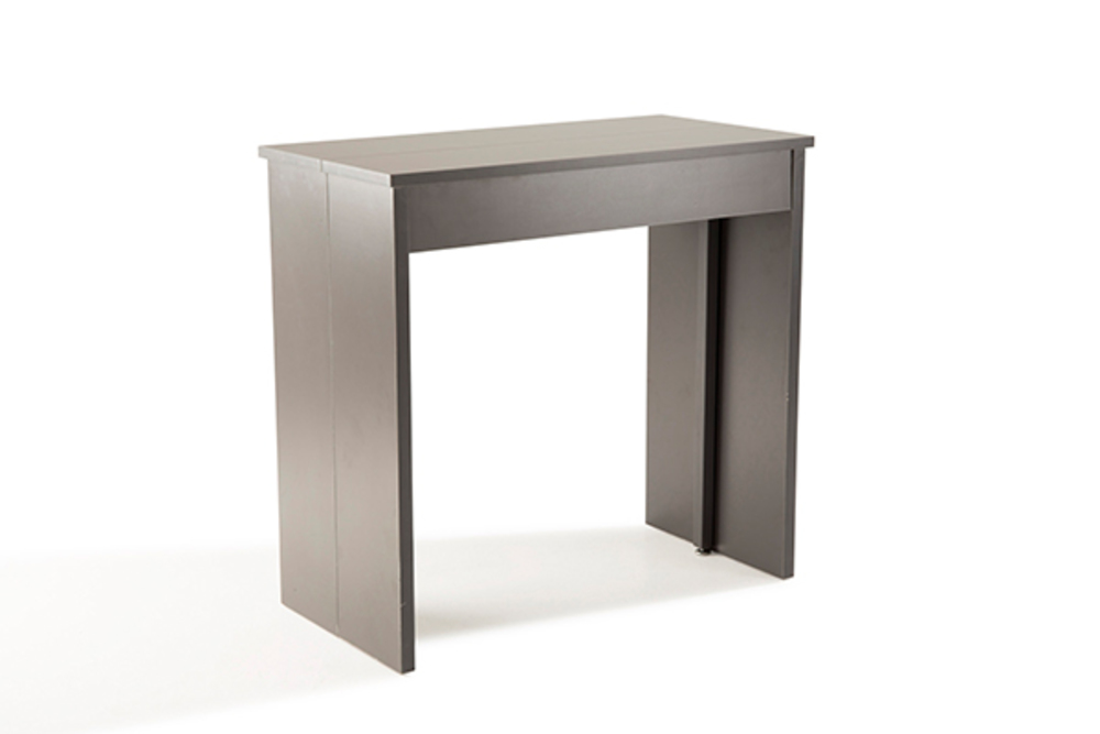 Table Console Extensible Volto Gris