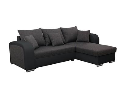 Canapé d'angle convertible réversible Bar