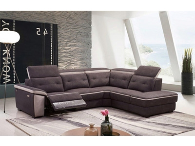 Canapé d'angle droit 1 relax electrique Panama