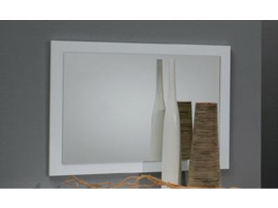 Miroir Carol blanc laquée