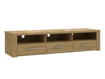 meuble tv bump laqu blanc blanc brillant. Black Bedroom Furniture Sets. Home Design Ideas