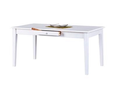 Table de repas Westerland blanc