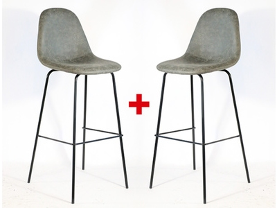 Lot de 2 tabourets de bar Zara