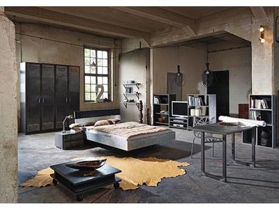 Chevet 2 tiroirs Workbase