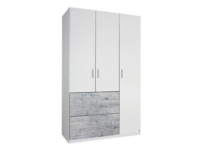 Armoire 3 portes + 2 tiroirs