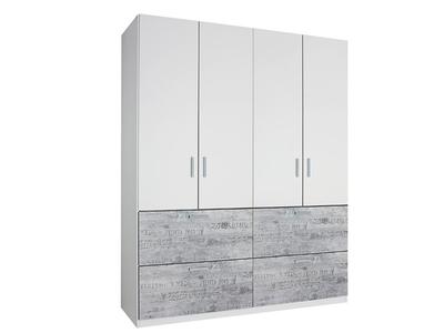 Armoire 4 portes + 4 tiroirs Sumatra extra