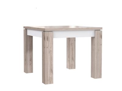 Table de repas carrée extensible