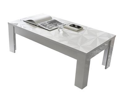 Table basse Prisme blanc