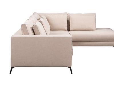 Canapé d'angle à droite Melbourne