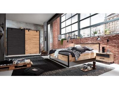 Armoire 4 portes+3 tiroirs Détroit