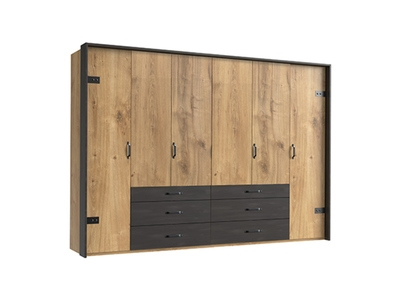 Armoire 6 portes+6 tiroirs Détroit