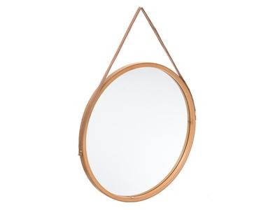 Miroir rond Sicela bambou
