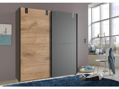 Armoire 2 portes coulissantes Cardiff