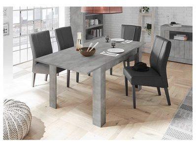 Table de repas extensible Ferrara béton