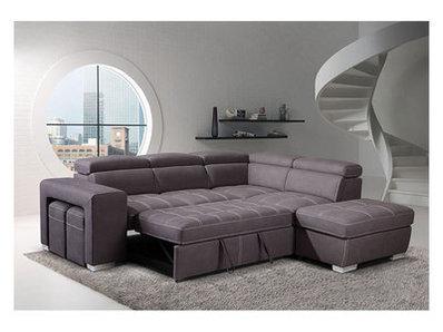 Canapé d'angle convertible à droite Positano