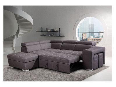 Canapé d'angle convertible à gauche Positano