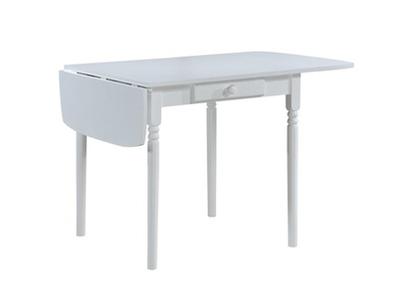Table de cuisine 1 tiroir avec allonge Emeline