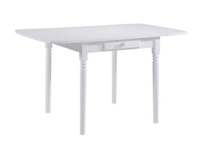 Table de cuisine 1 tiroir avec allonge