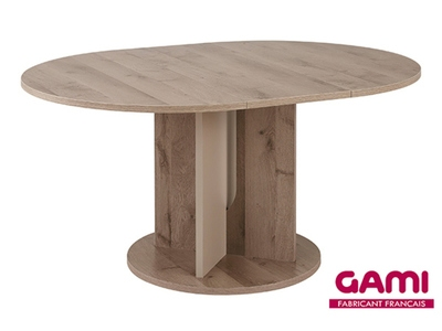 Table ronde extensible Sha